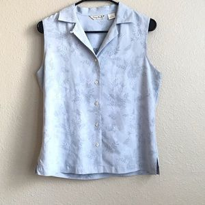 Tommy Bahamas 100% Silk top size M